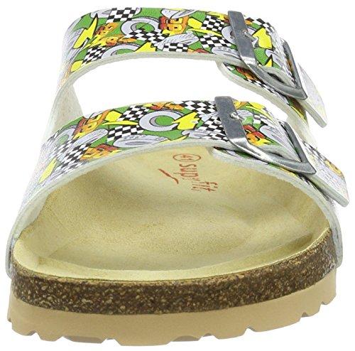Superfit Fussbettpantoffel - Sandales - Semelle intérieure Vert