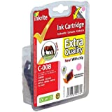 Inkrite Printer Ink (With Chip) for Canon iP6600D iP6700D Pro9000 - CLI-8PM Ph Mag (Horse)