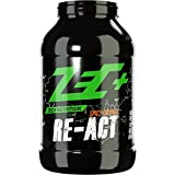 ZEC+ Re-Act Shake | All-in-one Post Workout Formel mit essentiellen Aminosäuren | Creatin-AKG | Glutamin-AKG | Ergogenics | Geschmack SPICY ORANGE 1800g