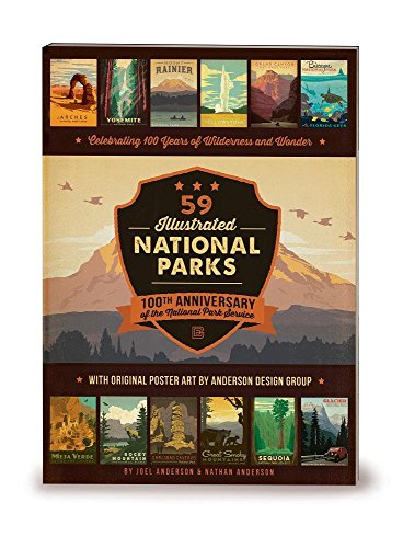 59-Illustrated-National-Parks-Softcover-100th-Anniversary-of-the-National-Park-Service