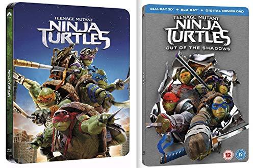 Teenage Mutant Ninja Turtles - TMNT - 1&2 Steelbook 2D/3D (Import inkl. dt. ()