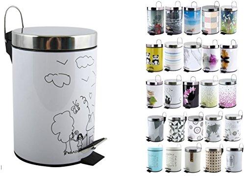 Imagen de Cubos de Basura Para Baños Msv por menos de 20 euros.