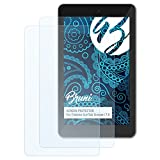 Bruni Schutzfolie kompatibel mit Trekstor SurfTab Xintron i 7.0 Folie, glasklare Bildschirmschutzfolie (2X)