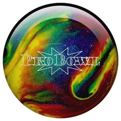 Bowlingball Pro Bowl violet/blue/yellow sparkle