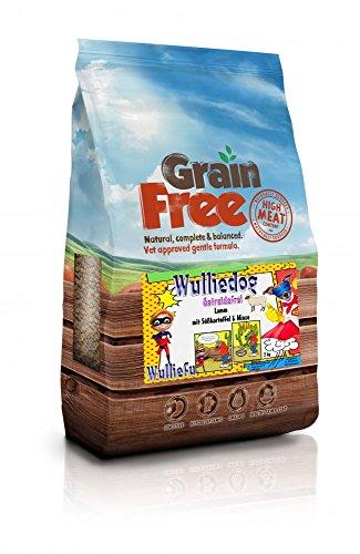 Omega-3-minze (Wulliefu Wulliedog Grainfree - Lamm, Süßkartoffel & Minze, Trockenfutter, 12 kg)
