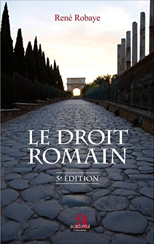 Le droit romain: (5e dition)