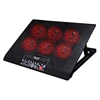 Inca INC-601 GMS 6X Fan ,Control Panel,2X Usb,6 Kademeli  Gaming Notebook  Soğutucu 7-17