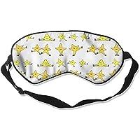 Comfortable Sleep Eyes Masks Cute Stars Printed Sleeping Mask For Travelling, Night Noon Nap, Mediation Or Yoga preisvergleich bei billige-tabletten.eu