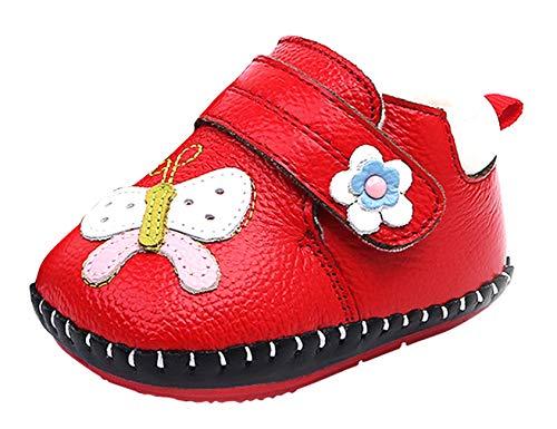 142f18b79ea5e Cloud Kids Chaussures Premiers Pas pour Bébé Nouveau-Nés Garçon Fille en  Cuir PU Souple
