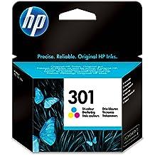 HP CH562EE Cartuccia 301 Getto d'Inchiostro, Volome 3 ml, (Magenta Originale Della Testina Di Stampa)