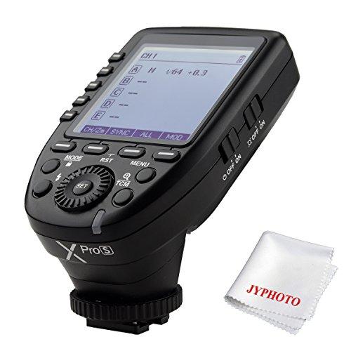 Wireless-flash-sender (Godox Xpro-S TTL Wireless Blitzauslöser für Sony DSLR Kamera 2.4G Wireless X System Fernauslöser 1 / 8000s HSS TTL-Convert-Manuelle Funktion Großer Bildschirm schrägen Design)