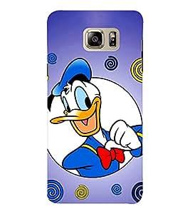 EPICCASE Lovely Donald Mobile Back Case Cover For Samsung Note 6 (Designer Case)