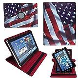 NEW USA Amerika Flagge Tablet Tasche Schutz Hülle Für 10 Zoll Denver TAQ-10133