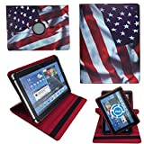 NEW USA Amerika Flagge Tablet Tasche Schutz Hülle Für 10 Zoll Jay-Tech / CANOX Tablet PC 101
