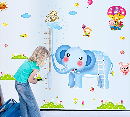 Elephant bambini Altezza tabella di sviluppo Misura