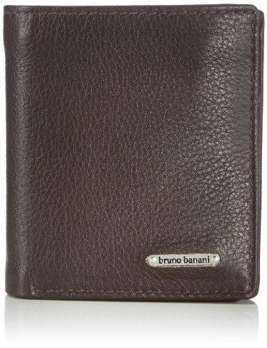Bruno Banani Scheintasche Hochformat Mini W 320.1241 Herren Geldbörsen 9x10x2 cm (B x H x T), Braun (braun)