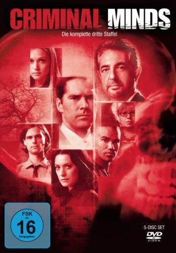 Criminal Minds - Die komplette dritte Staffel [5 DVDs]