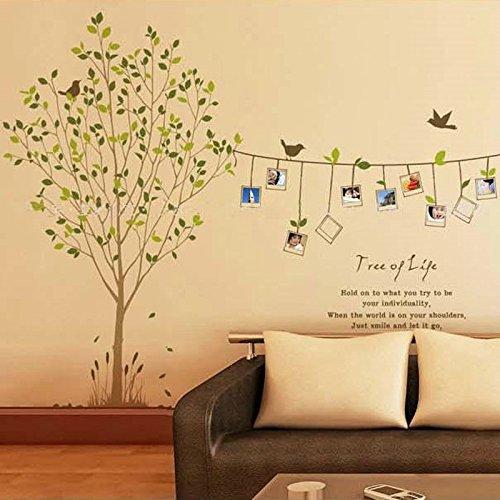 sprigy (TM) camerette per bambini Decal Adesivi cornice portafoto albero