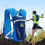 Wassersack Rucksack Laufrucksäcke Leichtgewichtig Trinkrucksack Funktionsweste Laufweste 5,5 l Off-Road Damen und Herren Outdoor Reiten Tasche Marathon Rucksack Camper...