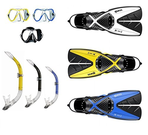 Mares X-OneS Splitfin + X-Vision + Sailor Schnorchelset Gr. 35-47