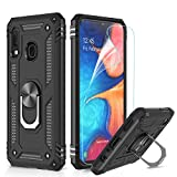 LeYi Galaxy A20e Case with Magnetic Ring Holder Kickstand,