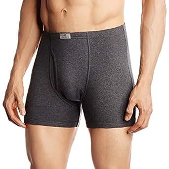 Jockey Men's Cotton Trunks (8901326018392_8008-0110- Charcoal Melange_Small)