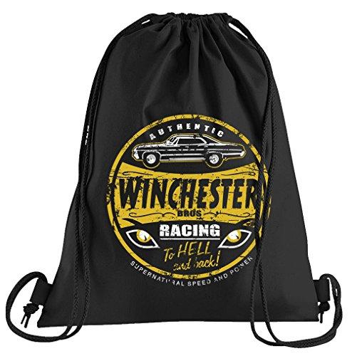 T-Shirt People Winchester Bros Racing Sportbeutel – Bedruckter Beutel – Eine schöne Sport-Tasche Beutel mit ()
