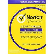Norton Security Deluxe - Antivirus, 5 Dispositivos