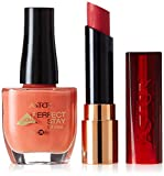 Astor Set Perfect Stay Fabulous Lippenstift, Farbe 410 Passionate Berry + gratis Gel Shine Nagellack, Farbe 207 Creamy Coral, 1er Pack (1 x 16 g)