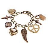 #10: Habors Bronze Multicharm Bracelet