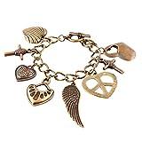 #7: Habors Bronze Multicharm Bracelet