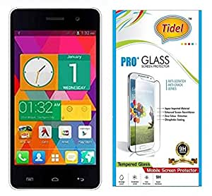 Tidel 2.5D Curved 0.3mm Tempered Glass Screen Protector For Micromax Unite 2 A106