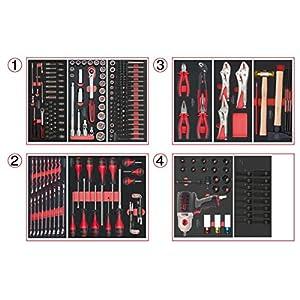 KS Tools 714.0263 Composition de 263 Outils 4 tiroirs pour servante pas cher