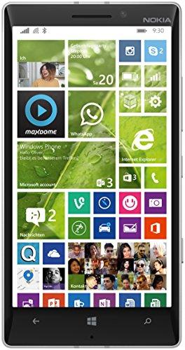 Microsoft Lumia 930 Smartphone (5 Zoll (12,7 cm) Touch-Display, 32 GB Speicher, Windows 8.1) grün (Handy-back-up-kamera)