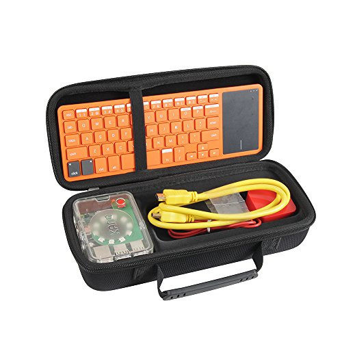 hermitshell Hard Eva, der Fall für Kano Computer Tastatur Kit schwarz (Tastatur-kit)