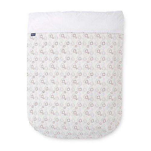 Chicco Nature - Juego de sábanas estampadas para cuna Lullago y Next...