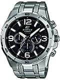 Casio Herren-Armbanduhr XL Edifice Analog Quarz Edelstahl EFR-538D-1AVUEF