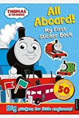 Thomas the Tank Engine All Aboard! My First Sticker Book Paperback