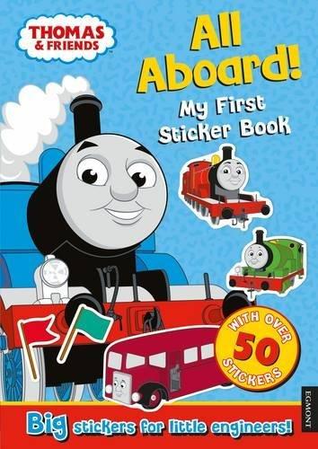 Thomas the Tank Engine All Aboard! My First Sticker Book por Egmont Publishing UK