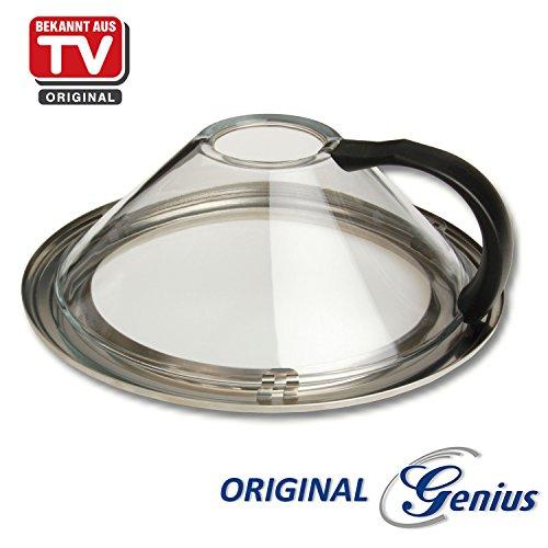 Genius A11155 Kochgeschirr, Glas, transparent, 28.5 x 10.5 x 28.5 cm