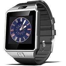 kxcd Bluetooth inteligente reloj DZ09reloj inteligente GSM SIM Tarjeta con cámara para Android IOS.
