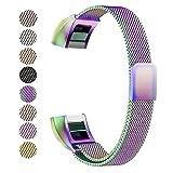 Fitbit alta HR Band, Benestellar silicone banda di ricambio per Fitbit alta HR e alta fascia con chiusura in metallo (Classic)