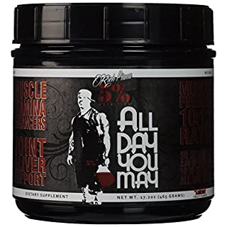 5% Nutrition Fruit Punch All Day You May Supplements - 30 Servings