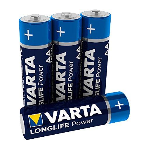 Varta - Pile Alcaline - AA x 4 - High Energy (LR6)