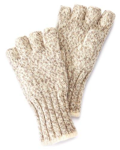 Fox River Ragg Fingerlose Handschuhe, Herren Damen, Tweed Braun, S (River-socke-liner Fox)