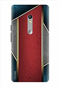 Noise Designer Printed Case / Cover for Motorola Moto X Play / Patterns & Ethnic / Ocean Red Design