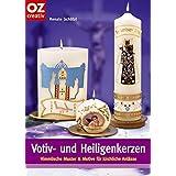 Votiv- und Heiligenkerzen: Himmlische Muster und Motive für kirchliche Anlässe