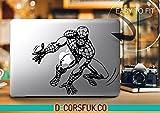 decorsfuk.co Spiderman Marvel MacBook Autocollant–Stickers pour MacBook–en Vinyle Noir