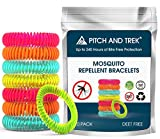AIRORB Mosquito Repellent Bracelets 10 PACK - Citronella All Natural DEET Free Anti