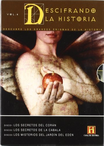 Decoding the Past (Vol. 4) - 3-DVD Box Set ( Secrets of The Koran / The Secrets of the Kabbalah / The Mysteries of the Garden of Eden ) ( Decoding the Pas [ NON-USA FORMAT, PAL, Reg.0 Import - Spain ] by Michael Berg